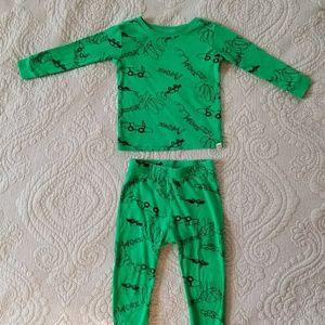 Baby GAP 2Pc Boys PJ Pajama Sleepwear 18-24 Mos